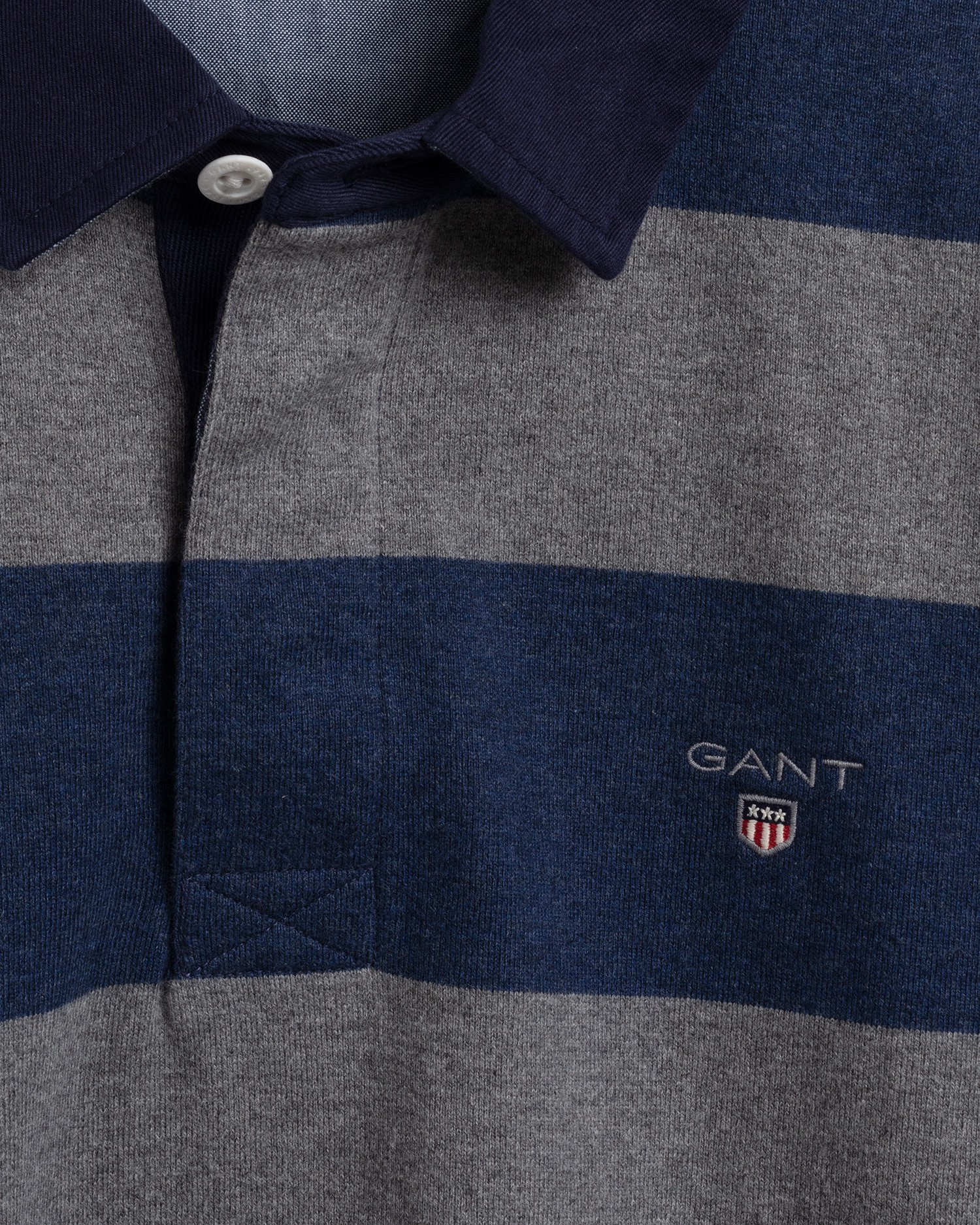 GANT Men's Original Barstripe Heavy Rugger - 2005051