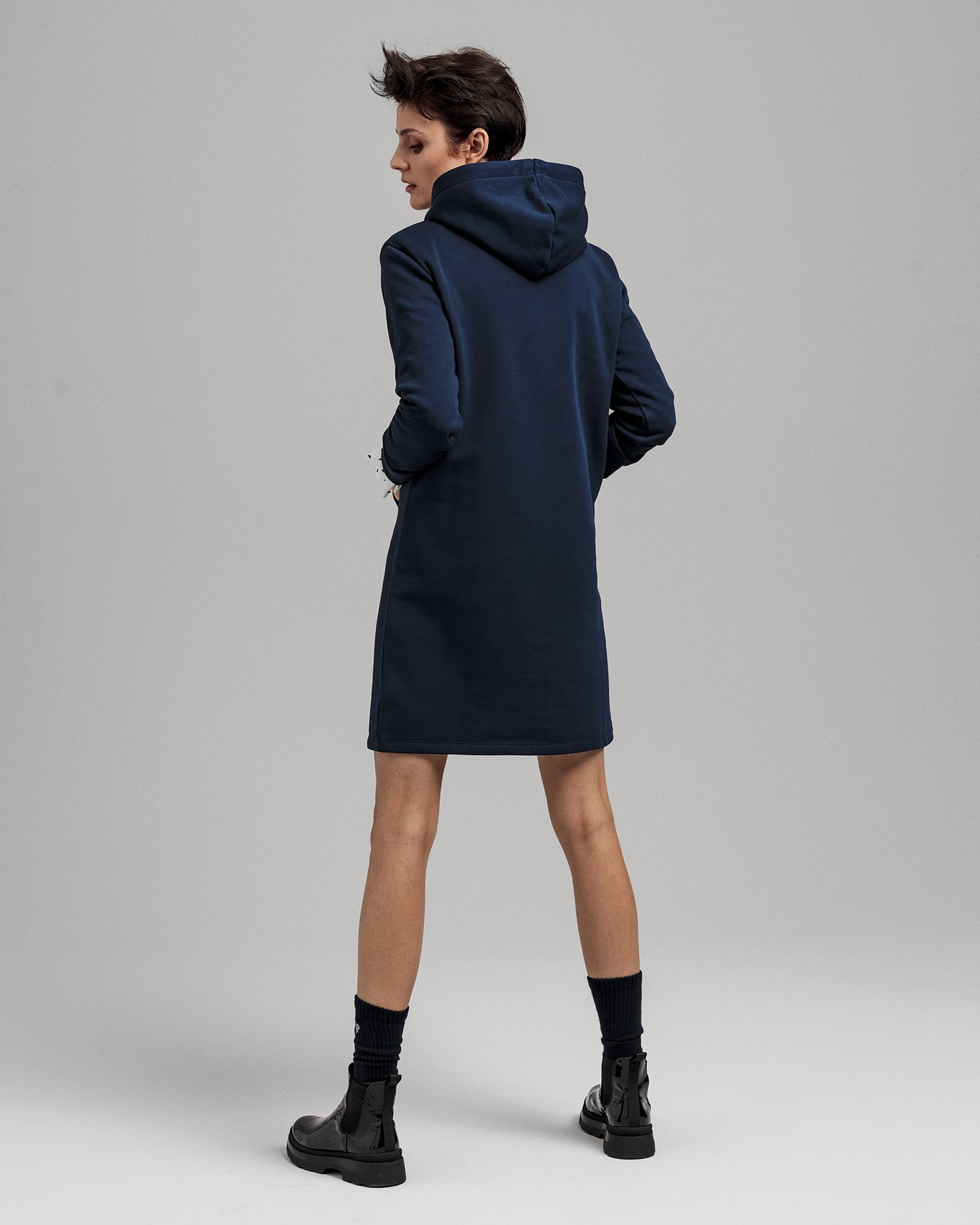 GANT Women's Lock Up Hoodie Dress - 4204356