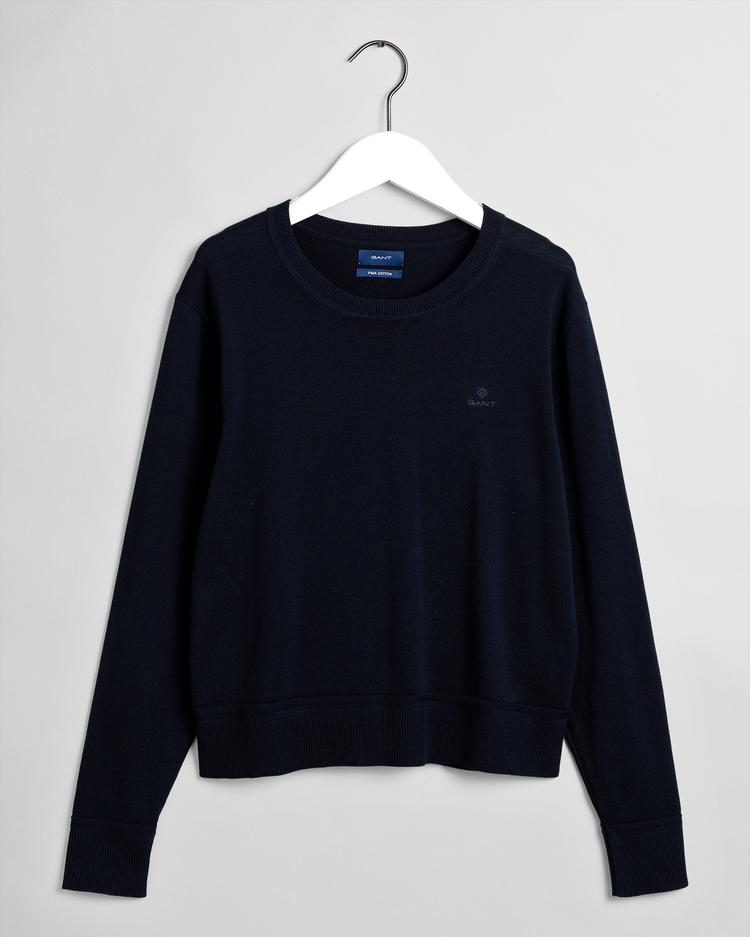 GANT Women's Light Cotton Crew Sweater - 4801515