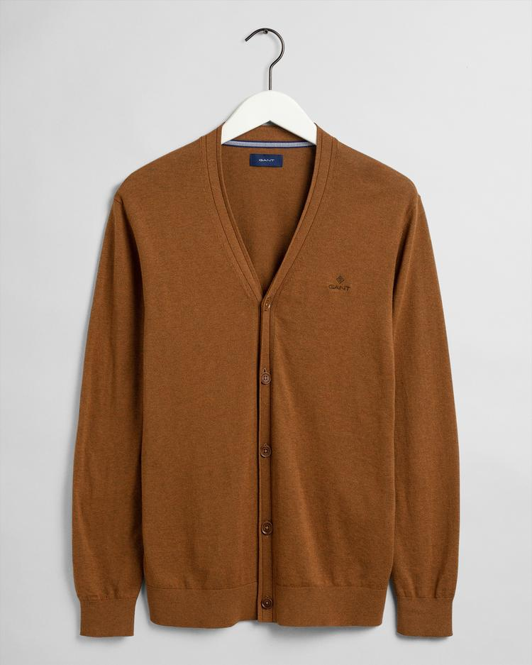 GANT Men's Elbow Patch Cardigan Sweater - 8050083