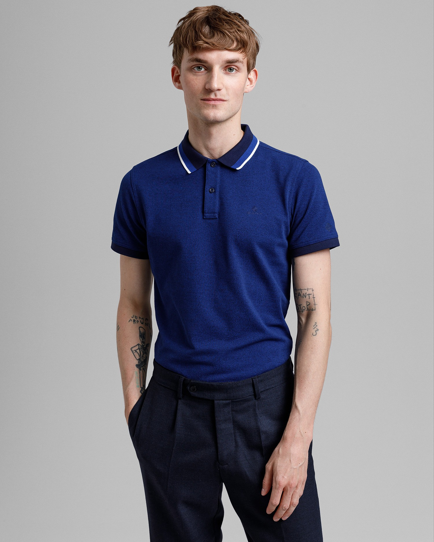 GANT Men's Tp Short Sleeve Pique Polo - 2012063