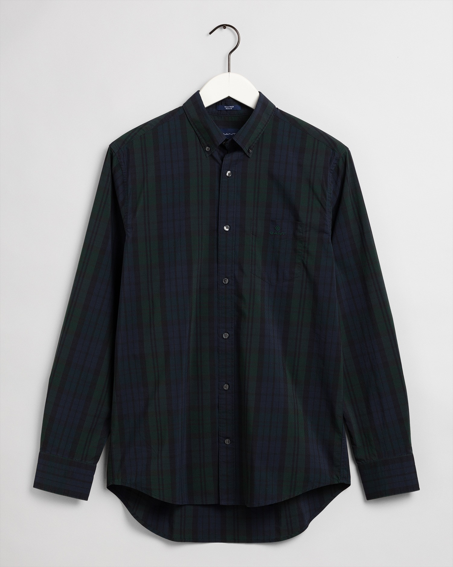GANT Men's Tp Bc Winter Check Regular Fit Broadcloth Shirts - 3030130
