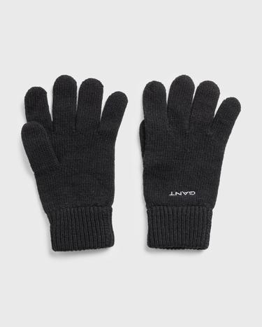 GANT Unisex Knitted Wool Gloves - 9930000
