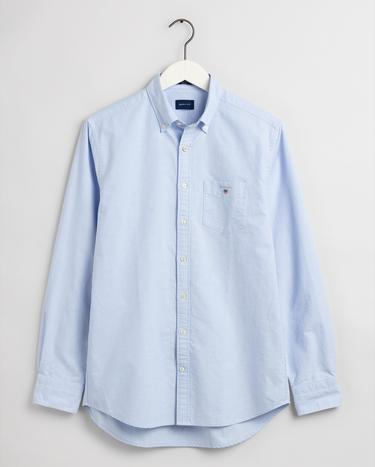 GANT męska koszula The Oxford z popeliny Regular Fit - 3046000