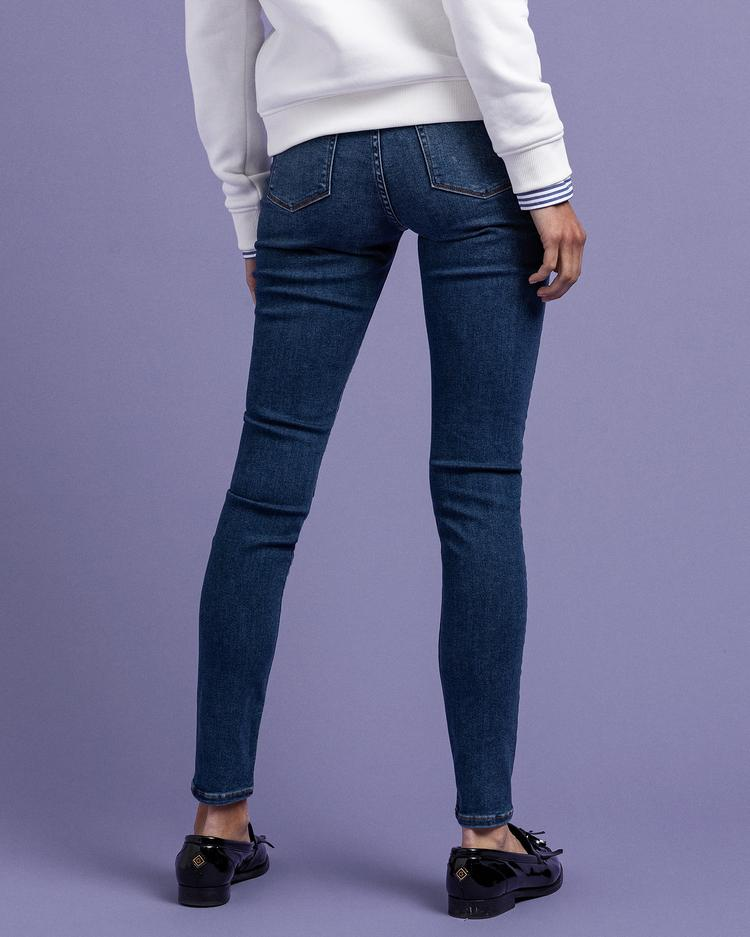 GANT Jeansy Damskie Skinny Travel - 4100085