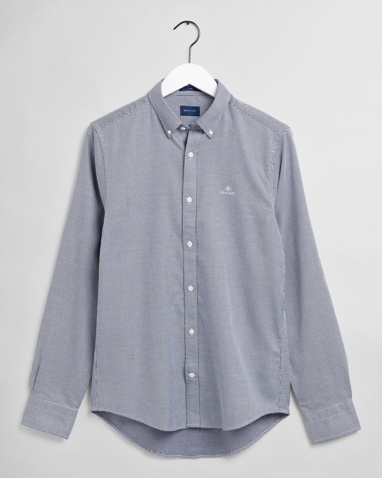 GANT Men's Melange Dobby Slim Fit Broadcloth Shirts - 3062702