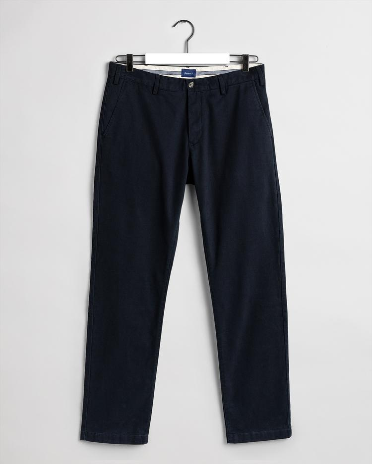 GANT Chinosy Męskie Comfort Super Slim Fit - 1503956