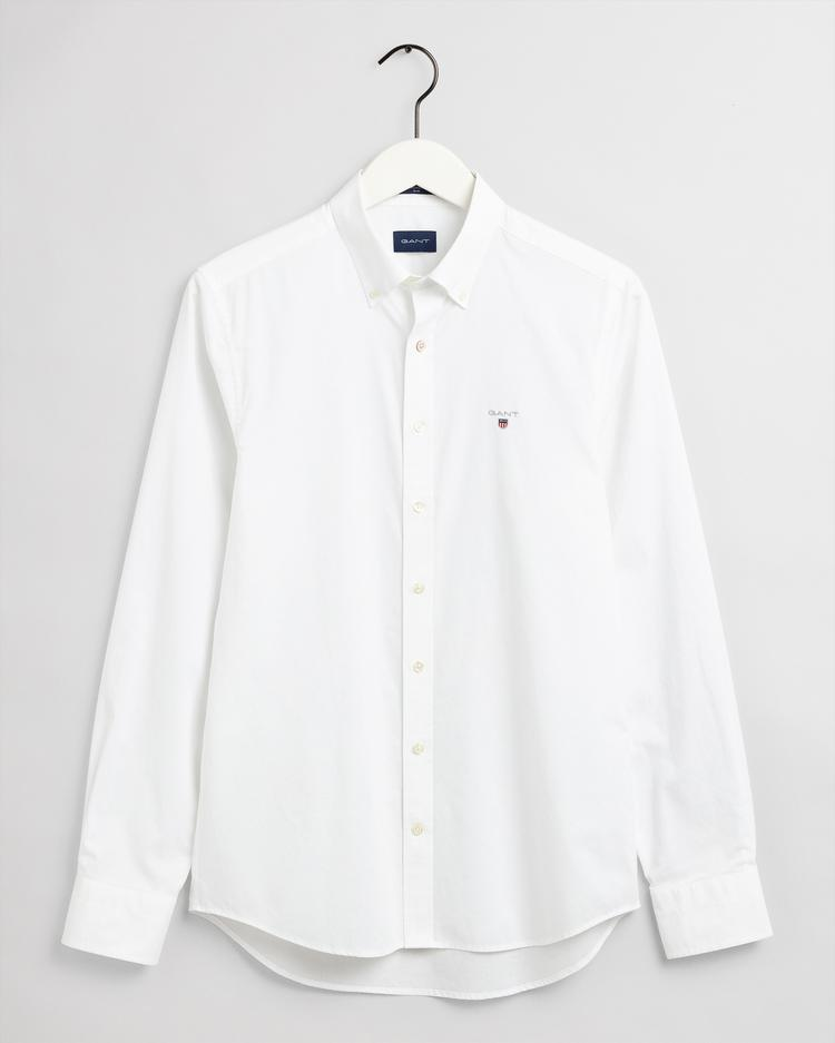 GANT Men's The Broadcloth Slim Fit Broadcloth Shirts - 3046402