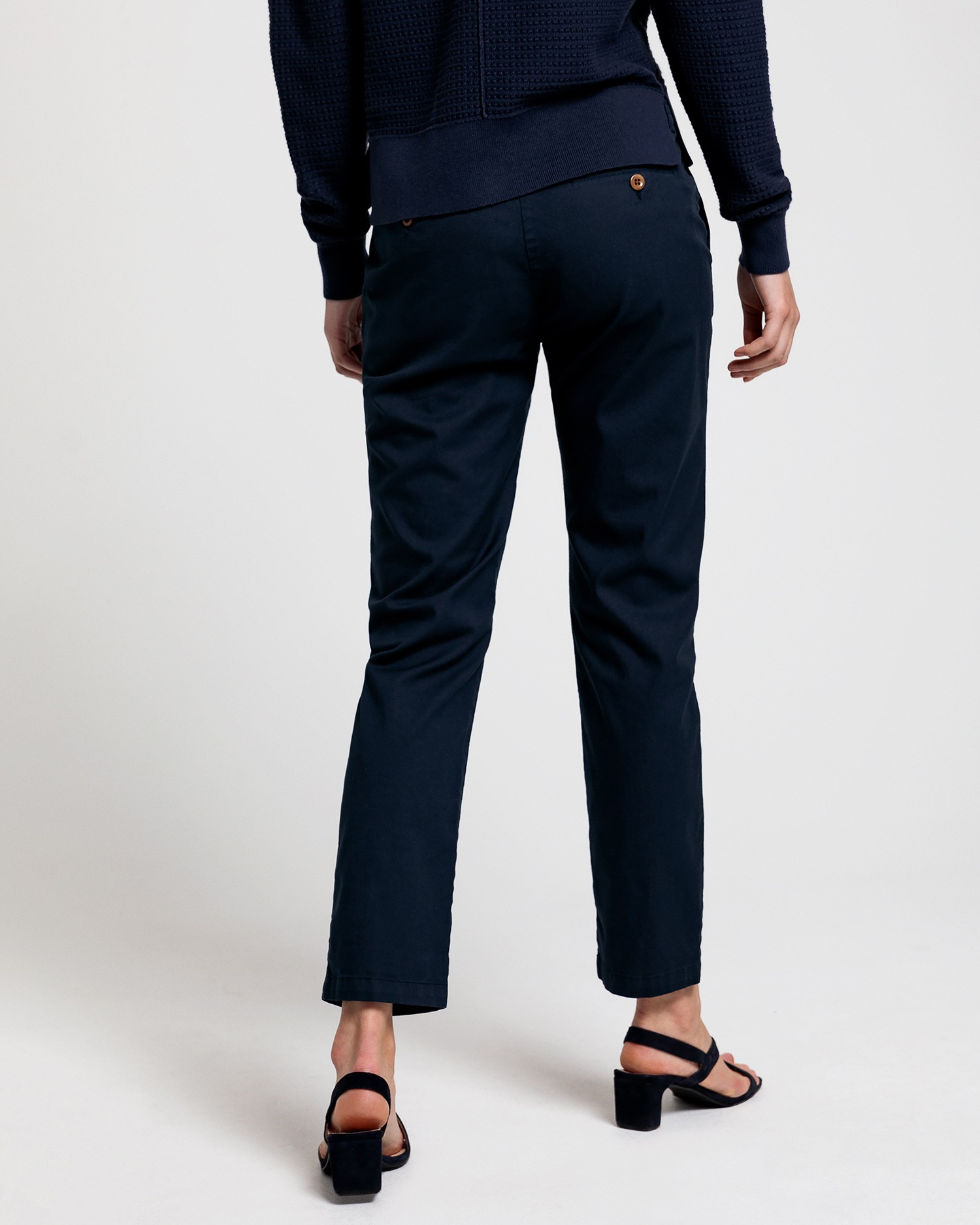 GANT Women Navy Blue Trousers - 4150132