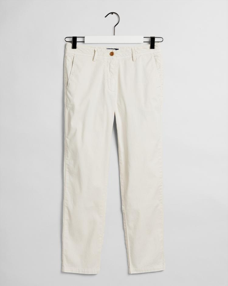GANT Women Cream Trousers - 4150132