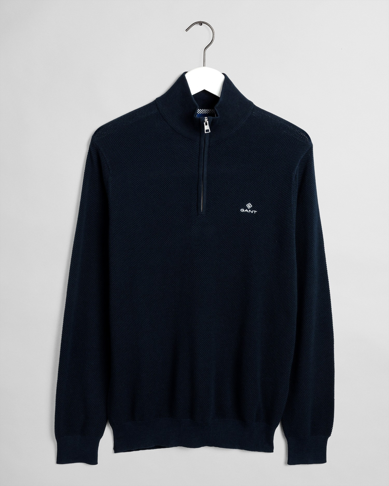 GANT Men's Cotton Pique Half Zip Sweater - 8030523