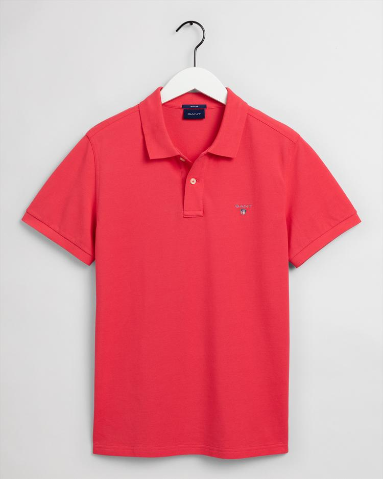 GANT Men's Original Pique Short Sleeve Rugger Polo - 2201