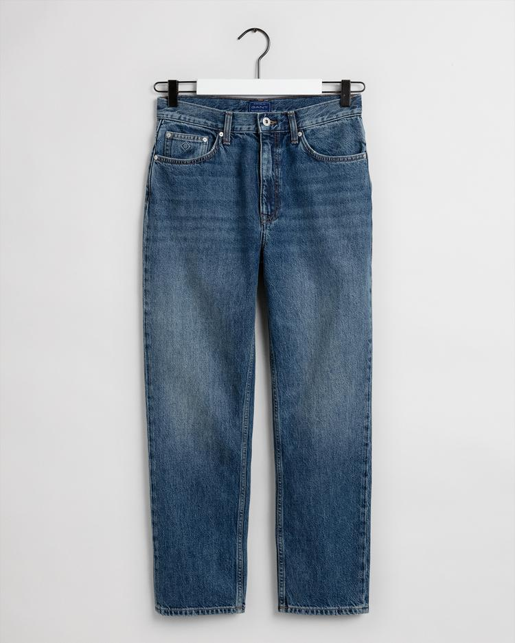 GANT Women's Straight Hw Cropped Jeans  - 4100128