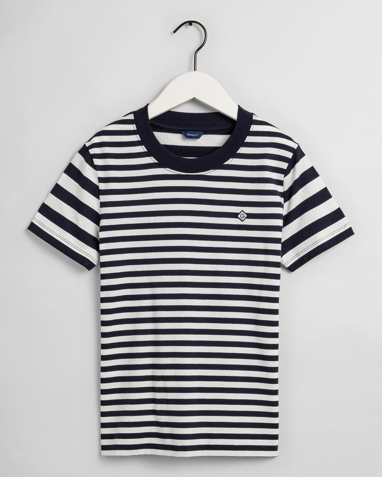 GANT Women's Striped Short Sleeve T-Shirt - 4203471