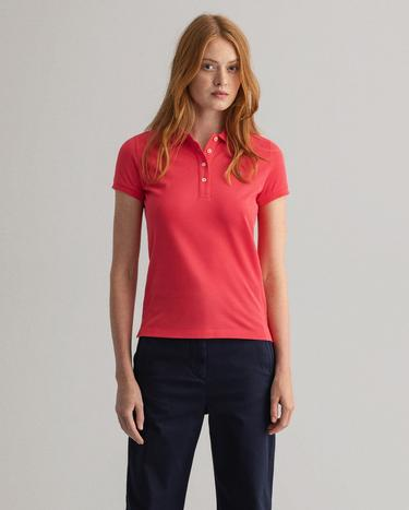 GANT Women's Original Short Sleeve Pique Polo - 402201